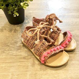 CAT + JACK Toddler Girls size 7 Sandals